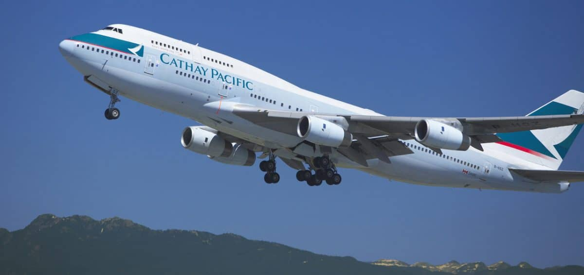 Cathay Pacific duty free shopping Featured Image