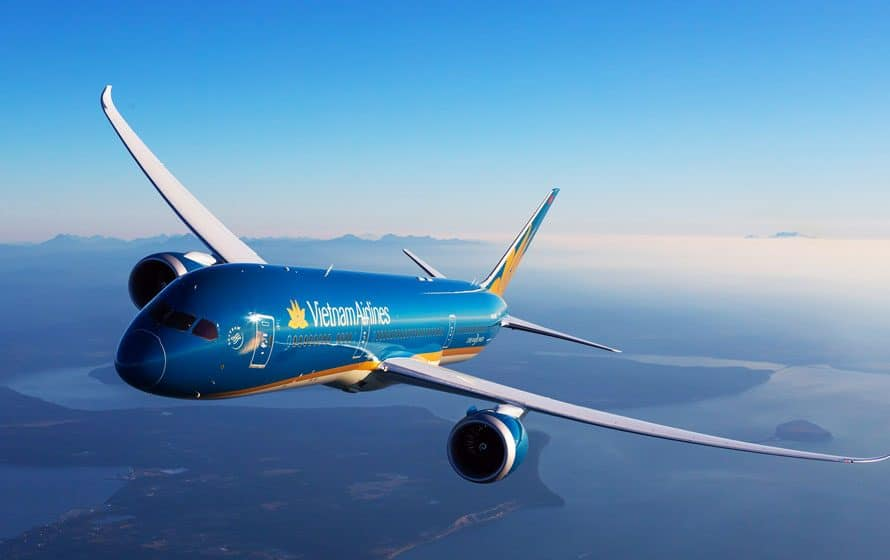 Vietnam Airlines duty free shopping