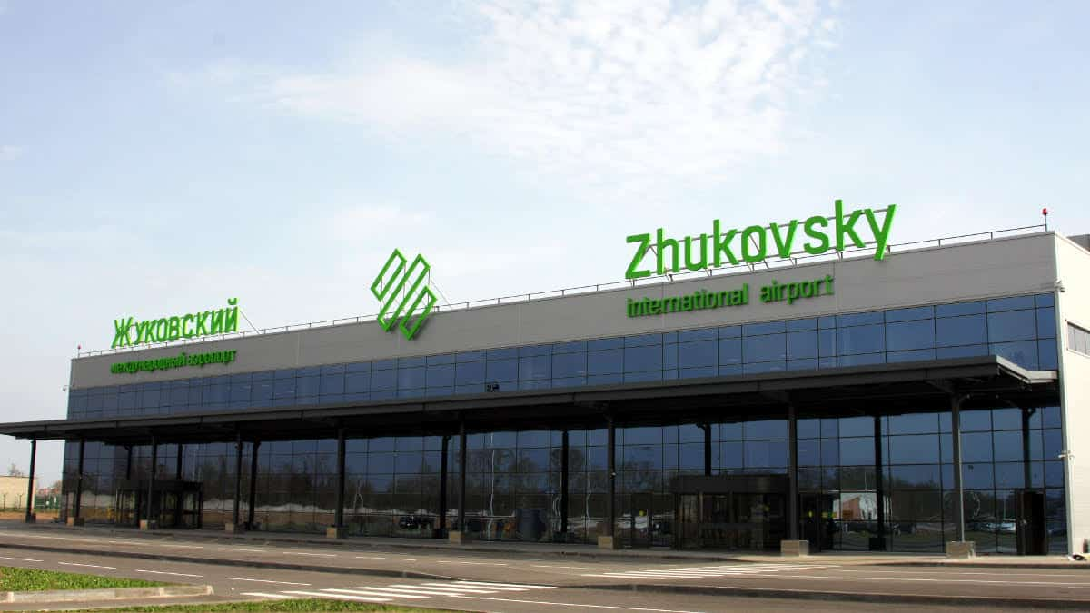 Zhukovsky Airport Duty Free ZIAs Shopping Dining Guide - Zhukovsky map