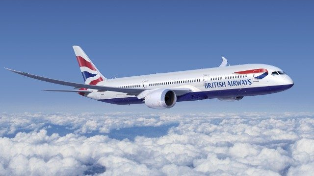British Airways - onboard duty free shopping