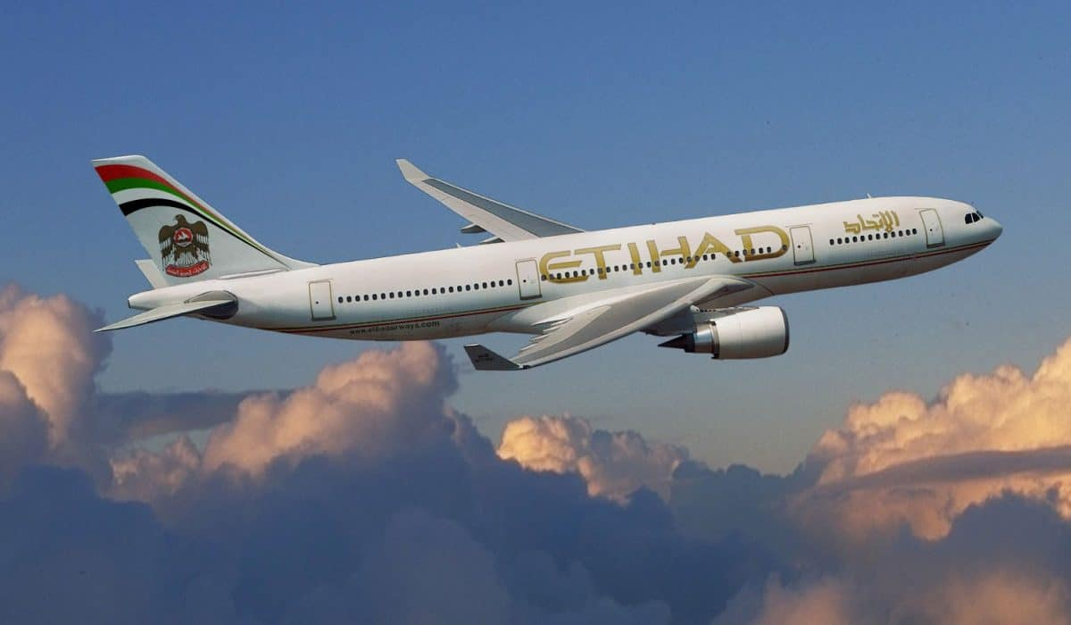 Etihad Airways duty free shopping
