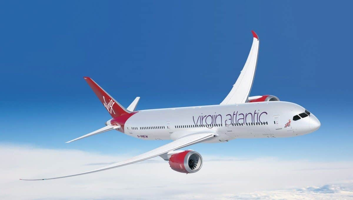 Virgin Atlantic duty free