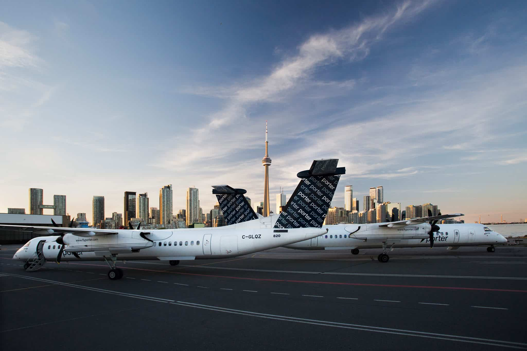 Porter Airlines duty free shopping