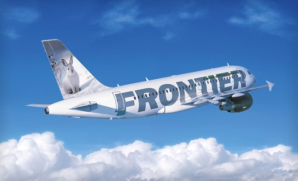 Frontier Airlines duty free shopping