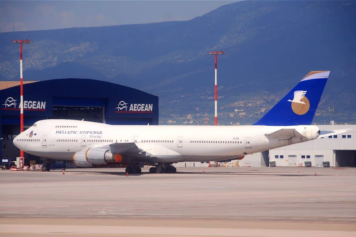 Hellenic Imperial Airways duty free shopping