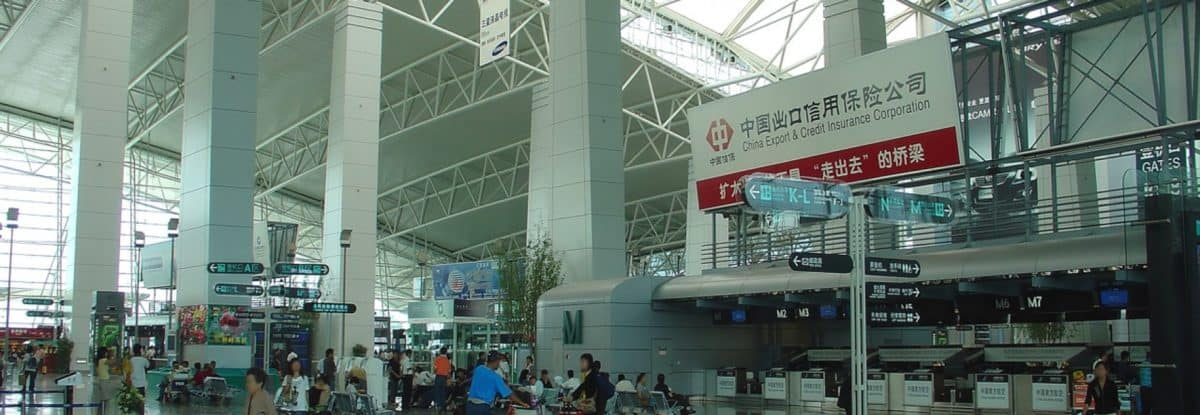 Guangzhou Baiyun Airport Duty Free Can S Shopping