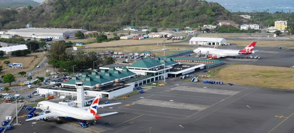 Hewanorra International Airport Map St. Lucia Hewanorra Airport duty free | UVF's Shopping & Dining Guide