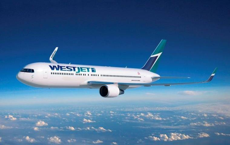WestJet duty free shopping