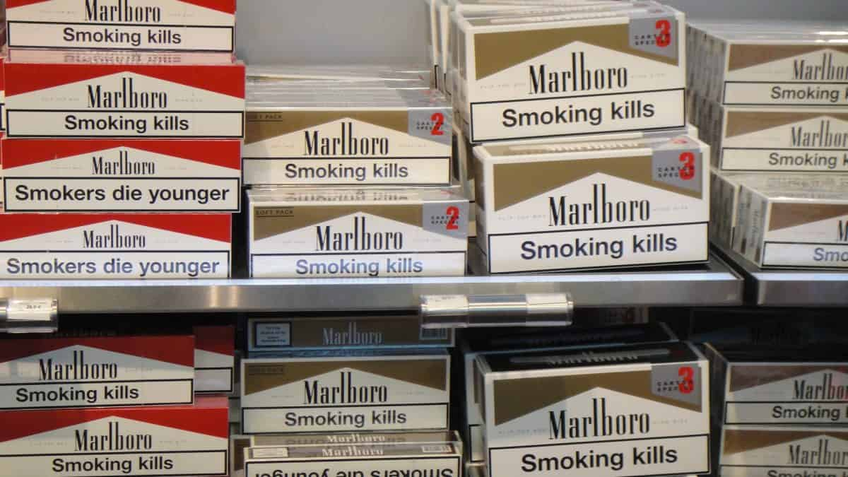 Marlboro cigarettes from Sheffield