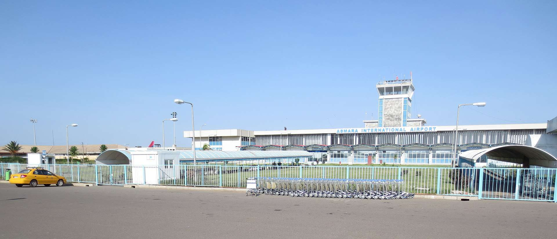 Asmara International Airport duty free