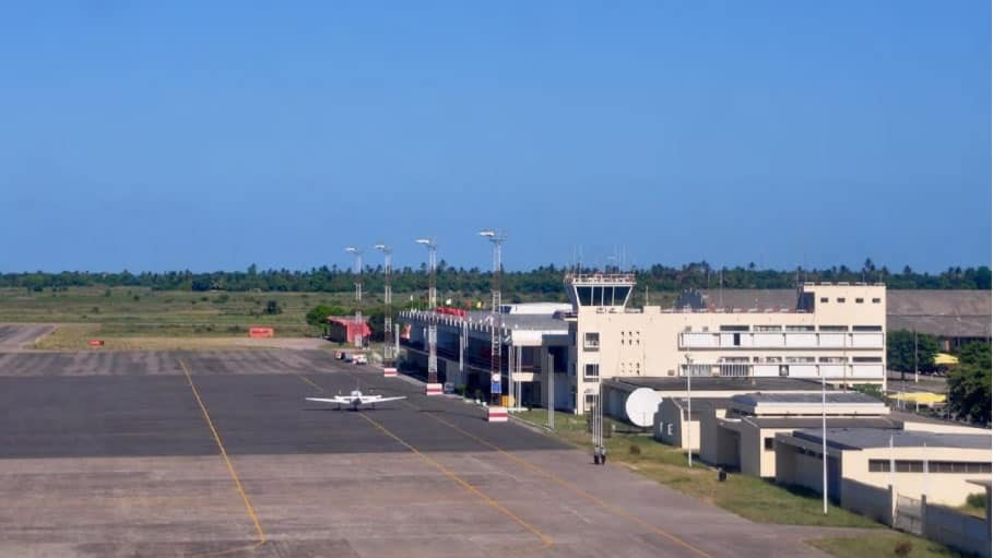 Beira Airport duty free