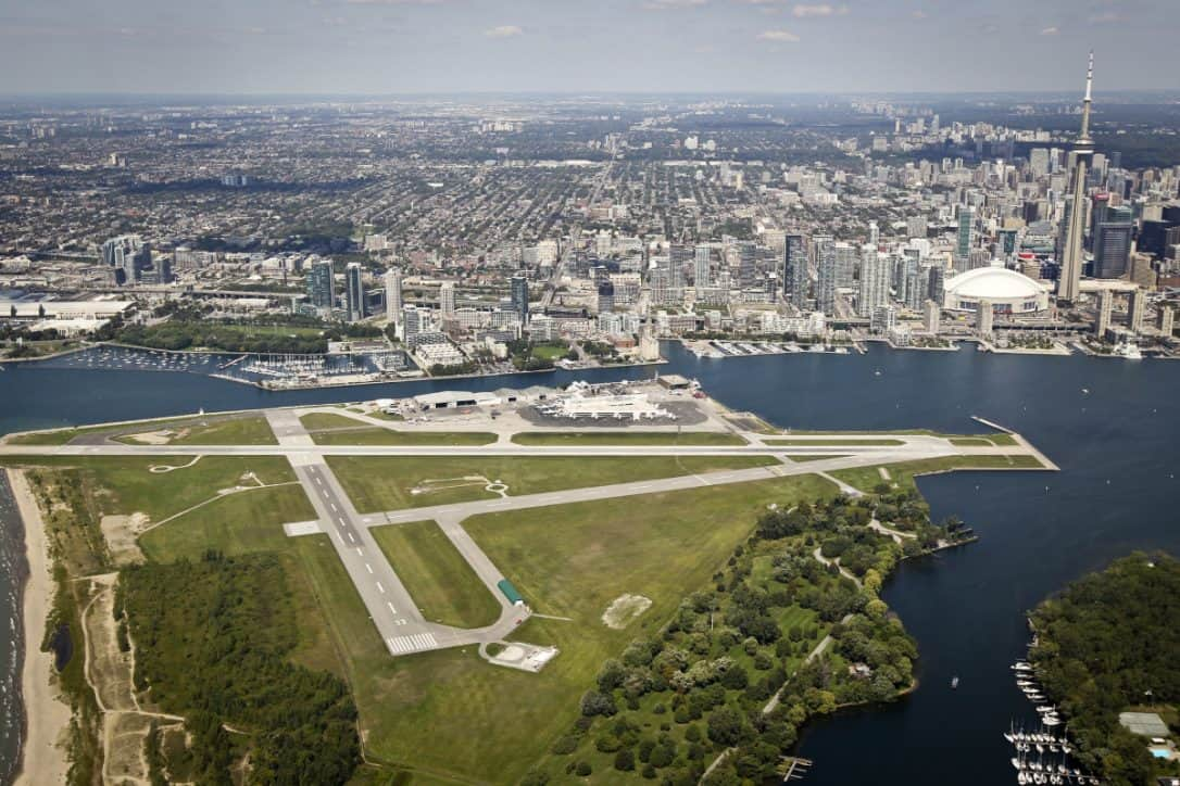 Billy Bishop Toronto City Centre Airport duty free