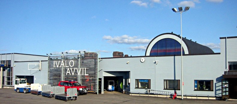 Ivalo Airport duty free