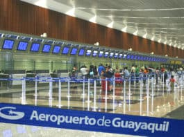 José Joaquín de Olmedo International Airport duty free