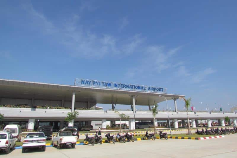 Naypyidaw Airport duty free