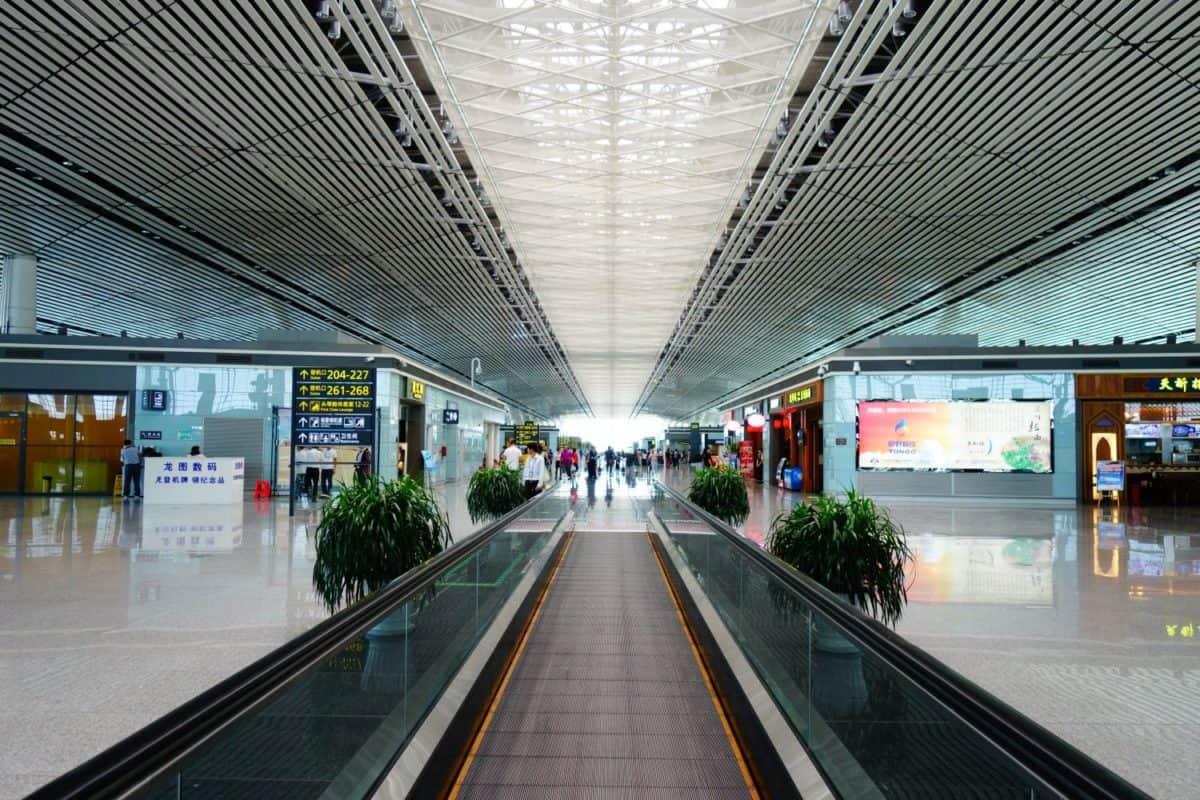 Tianjin Binhai International Airport duty free