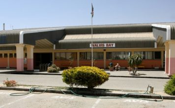 Walvis Bay Airport duty free