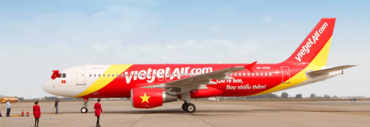 Vietjet duty free shopping