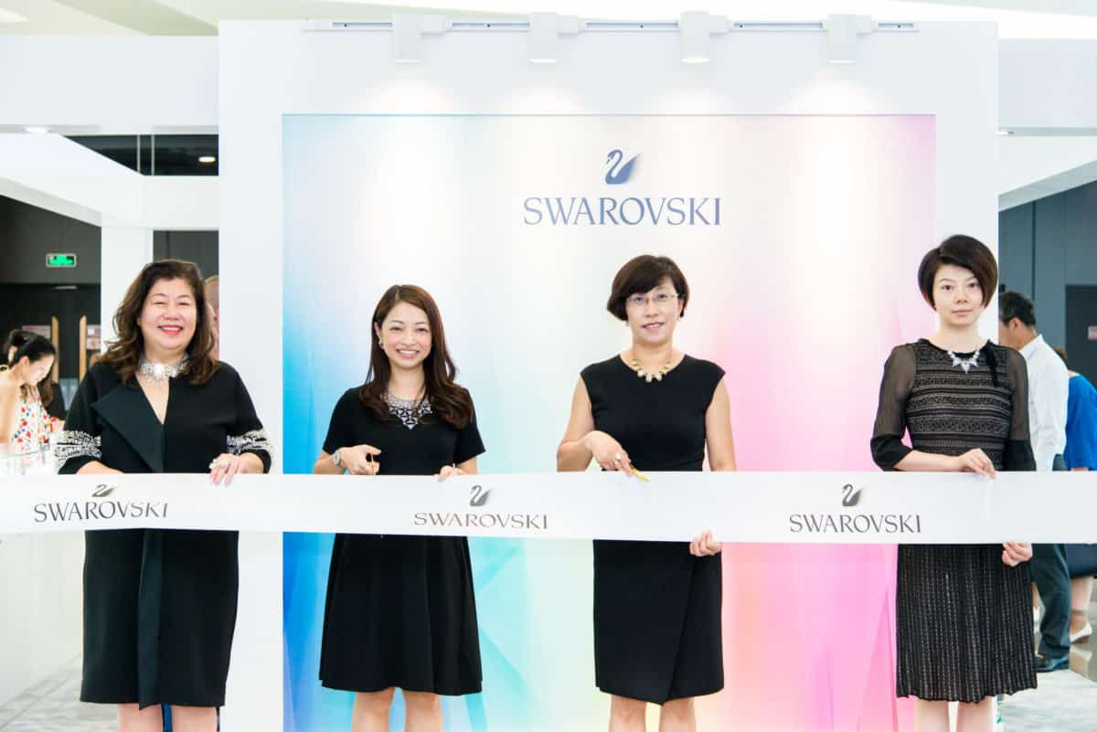 Swarovski pops up in style with China Duty Free at Haitang Bay