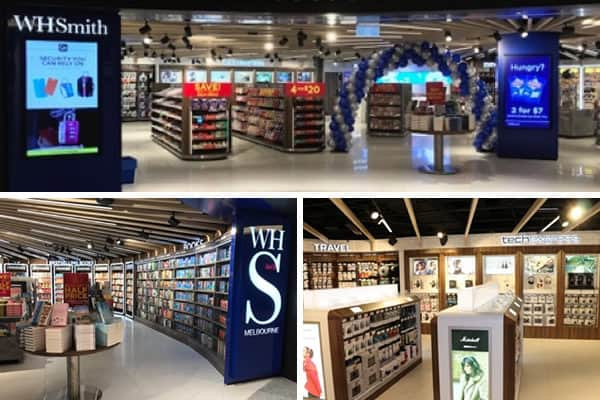 WHSmith unveils new-look stores at Melbourne Airport's upgraded T2