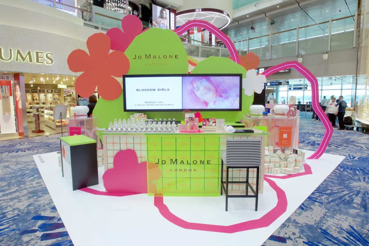 On location: Jo Malone London brings Blossom Girls to travel retail in exclusive Changi pre-launch