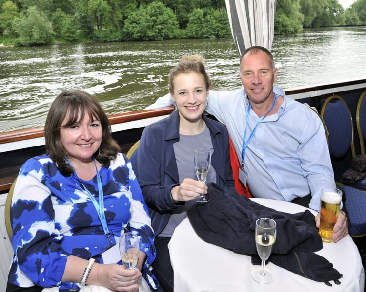 Travel Retail Consortium jazzes it up on the River Thames