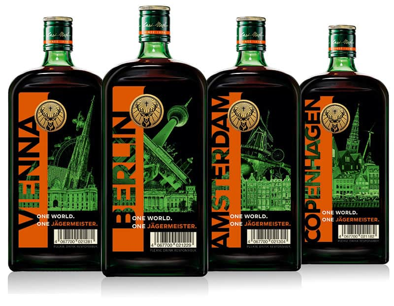 Jägermeister launches GTR exclusive series of city-themed bottles