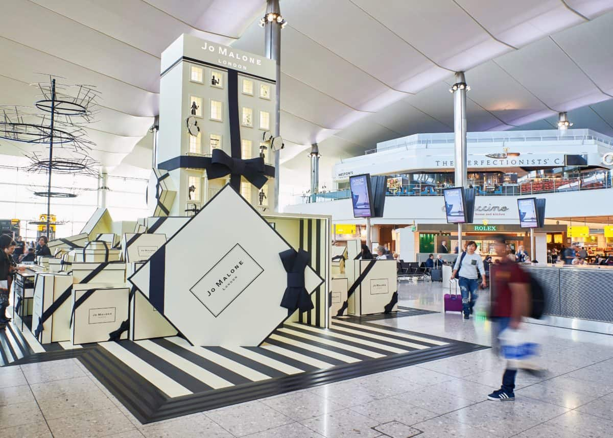 Jo Malone London brings a 'Travelling Townhouse' to Heathrow