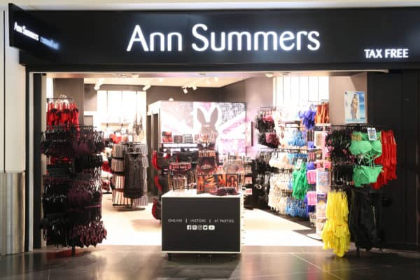 Ann Summers opens first airport store at Gatwick Featured Image