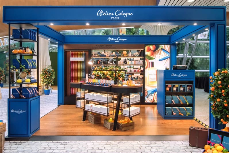 Atelier Cologne opens first airport pop-up in Southeast Asia at Kuala Lumpur International Featured Image