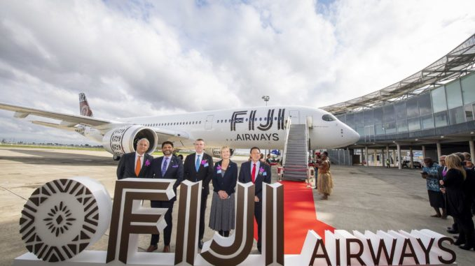Fiji Airways – First South Pacific Operator of the Airbus A350XWB