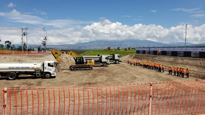 Quito International Airport beings expansion project