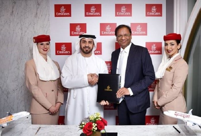 Emirates signs SpiceJet codeshare deal to grow India market