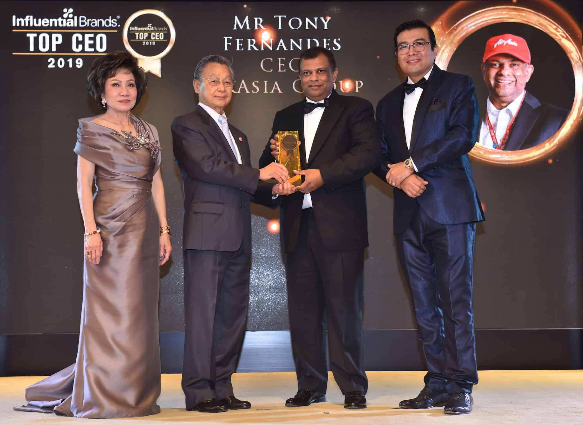 AirAsia's Tony Fernandes wins top honour at Asia CEO Summit & Award Ceremony