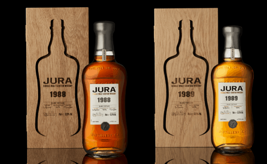 Jura extends collection of rare and limited-edition single malt Scotch whiskies