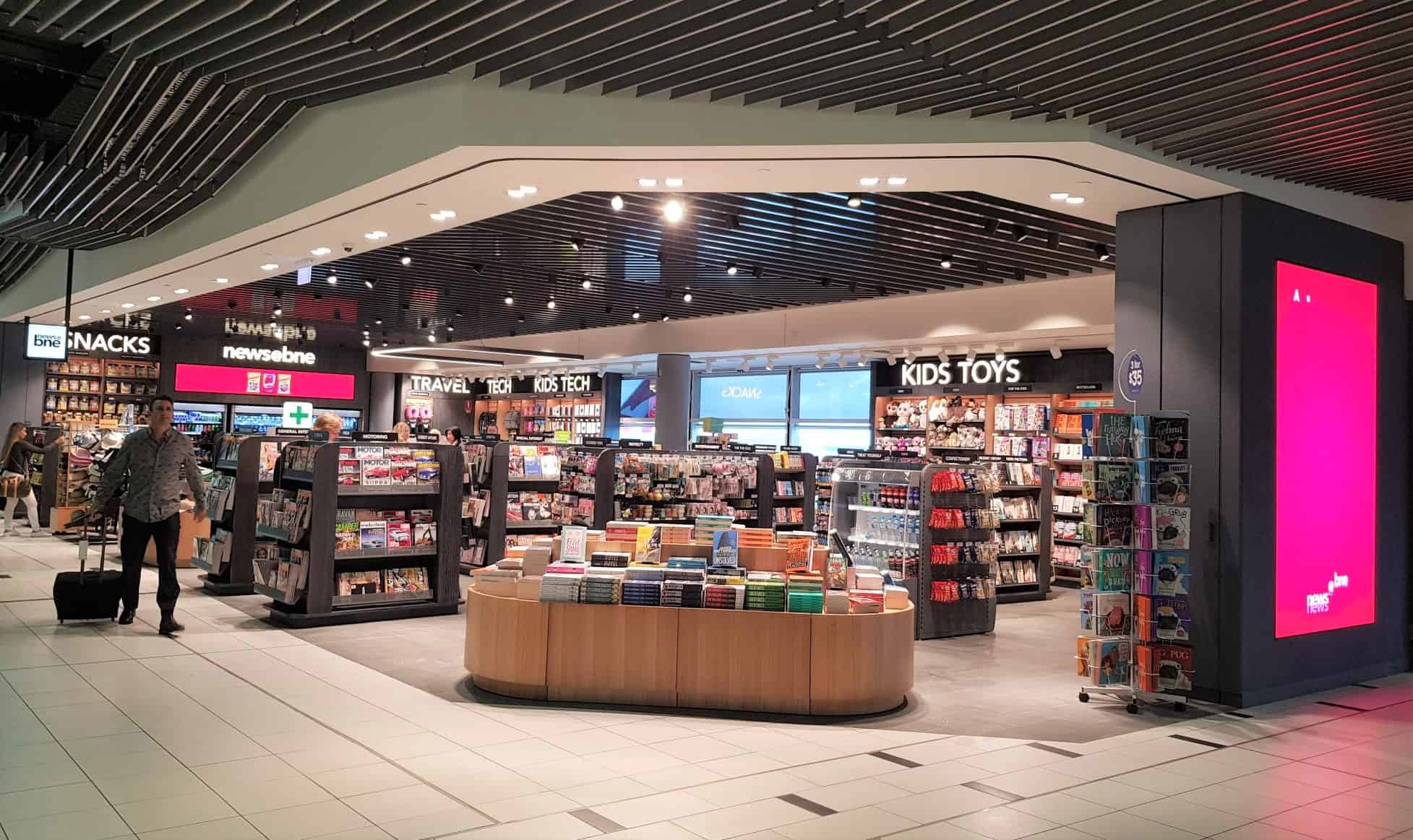 Transformation complete: AWPL opens ninth News & Travel Essentials store at Brisbane's domestic terminal