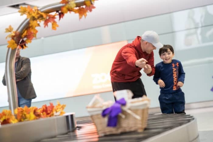 Thanksgiving drives London Heathrow to record November