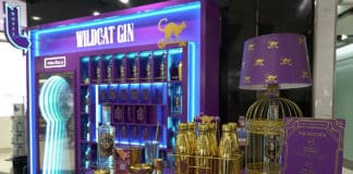 """Wildcat Gin partners with Dufry to invite passengers to check in at """"Hotel Temptation"""""""