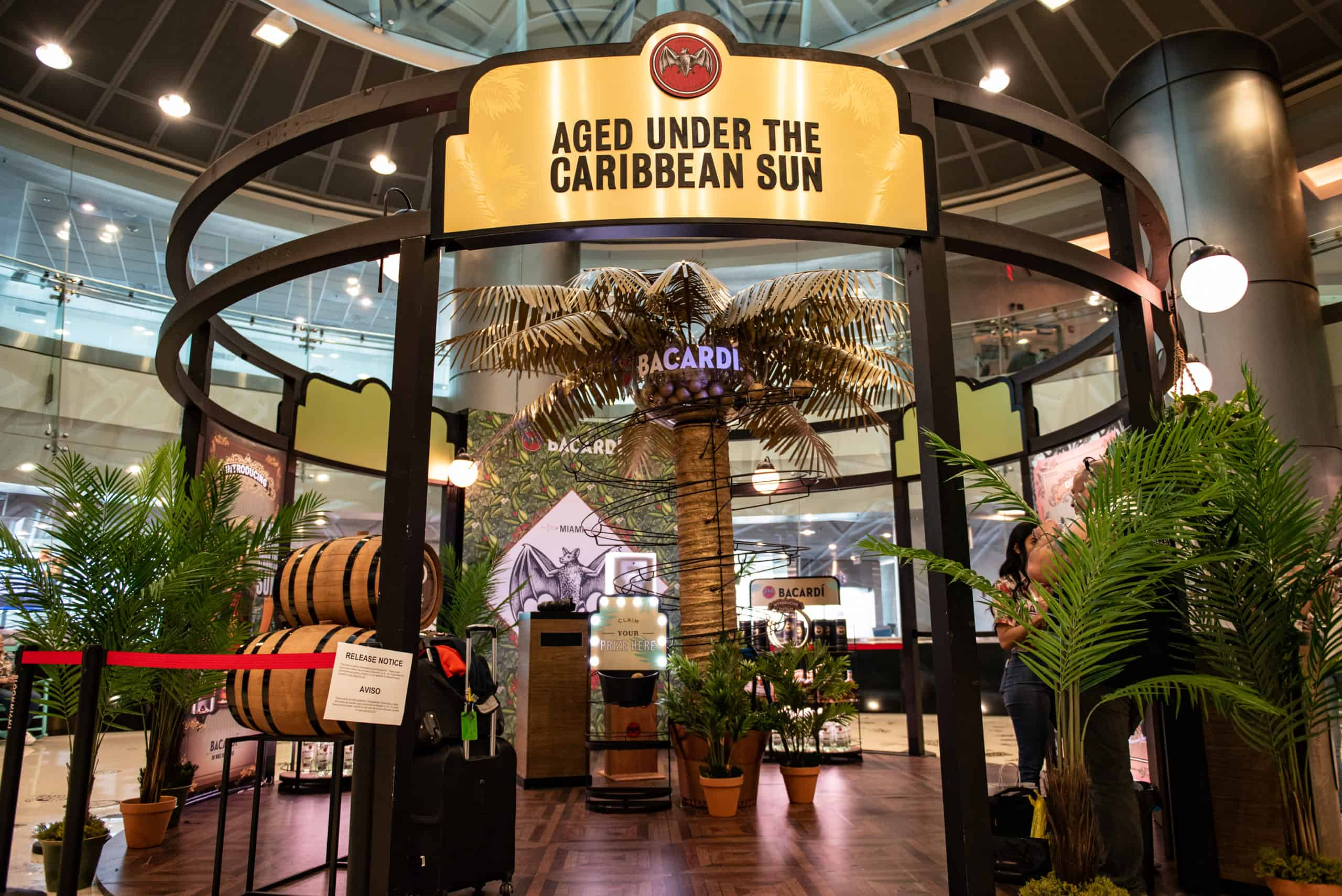 'Do What Moves You': Bacardi and Duty Free Americas join forces at Miami Airport