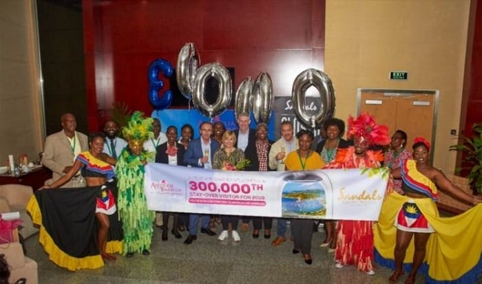 Antigua & Barbuda reaches new visitor milestone