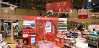 Nestlé International Travel Retail takes confectionery centre stage at Singapore Changi Airport with disruptive KITKAT® Chinese New Year activation