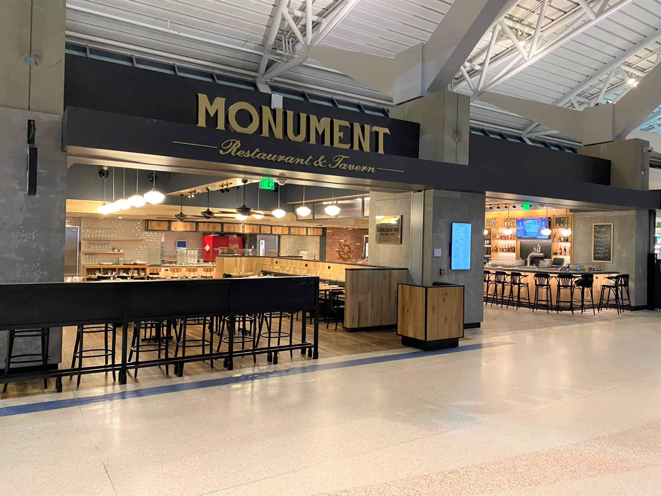 Local favourite restaurants open at Boston Logan as athletic brand New Balance unveils first airport store