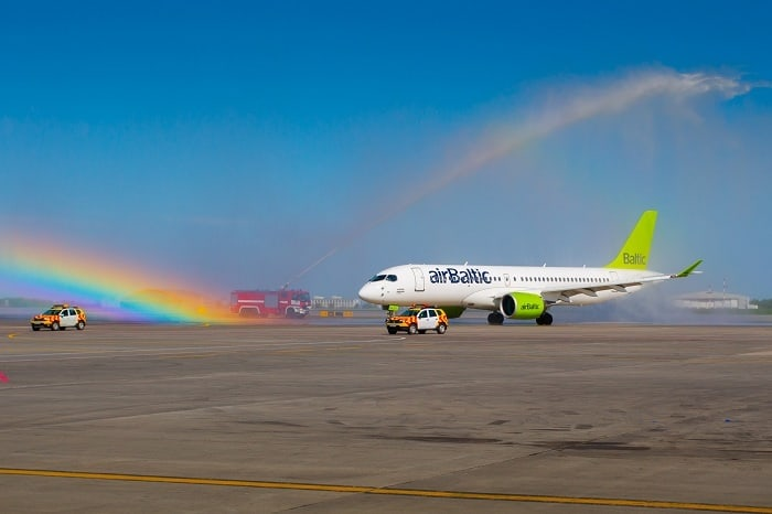 Record passenger numbers at airBaltic