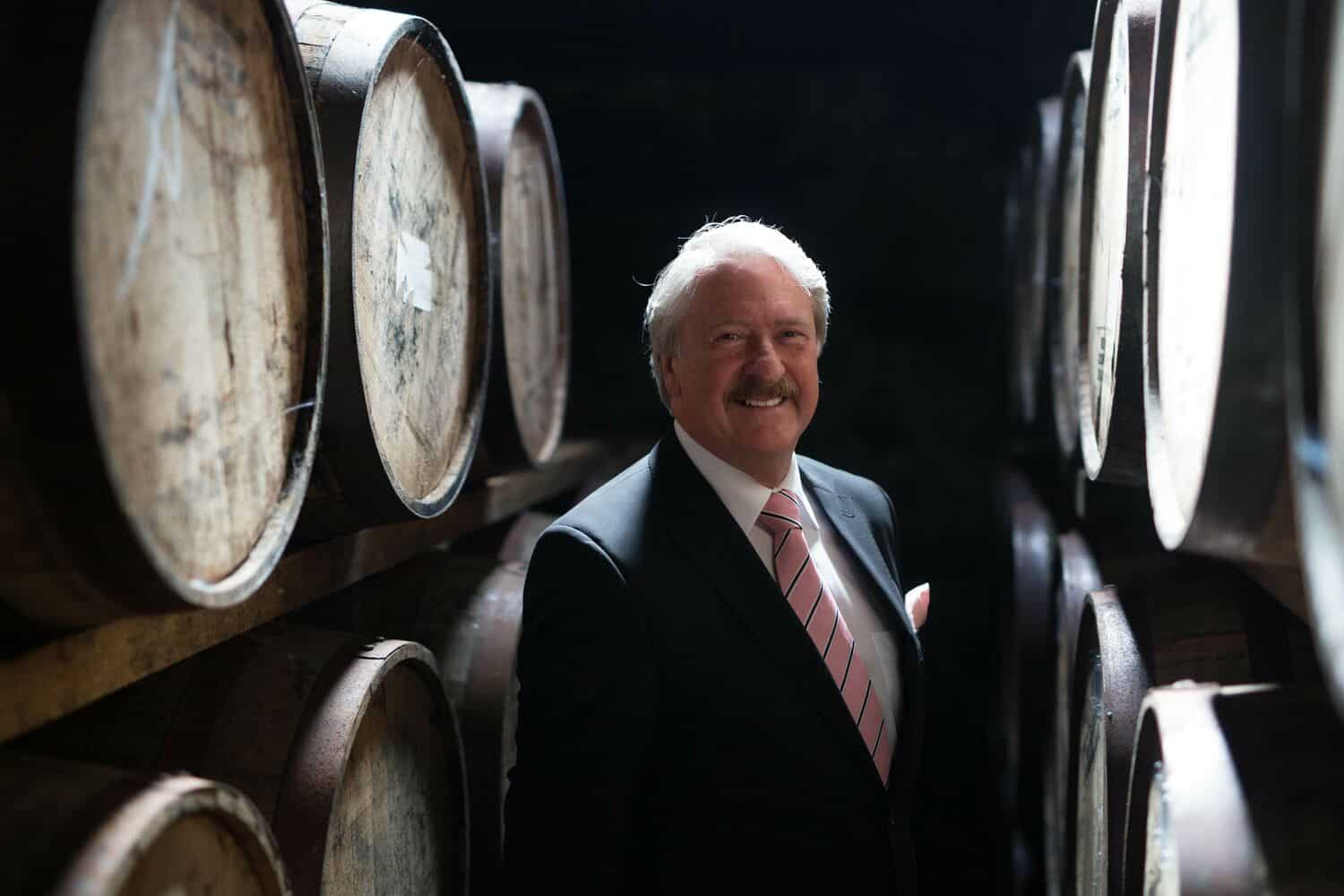 Richard Paterson celebrates 50 years ahead of once-in-a-lifetime whisky release