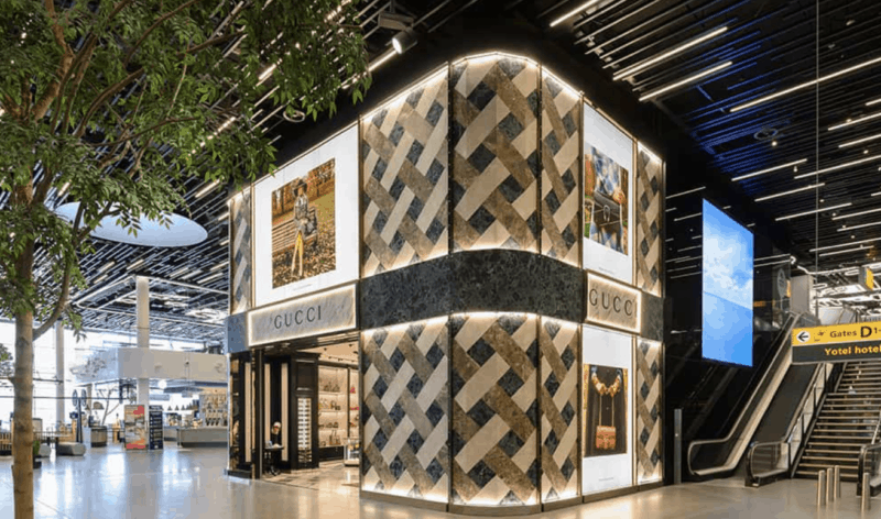 """""""Cabinet of curiosities"""" – Gucci brings contemporary eclecticism to new Amsterdam Airport Schiphol boutique Featured Image"""