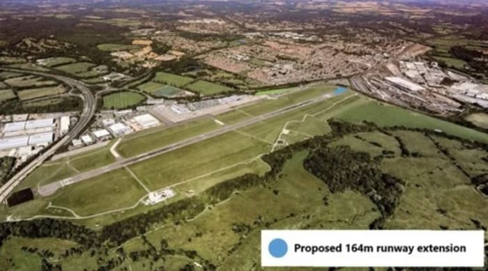 Southampton Airport wins runway extension planning permission