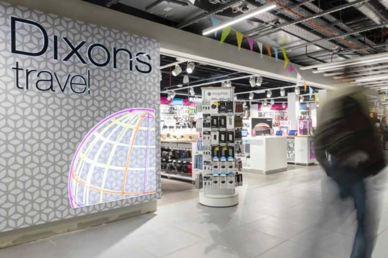Dixons Travel stores set to close after UK airside tax free shopping is axed Featured Image
