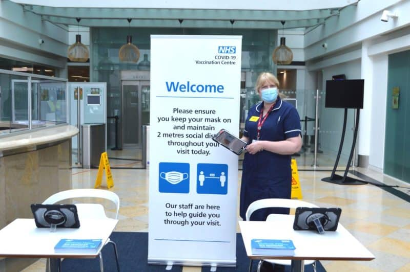 Heathrow head office-based NHS vaccine centre set to scale up operations Featured Image