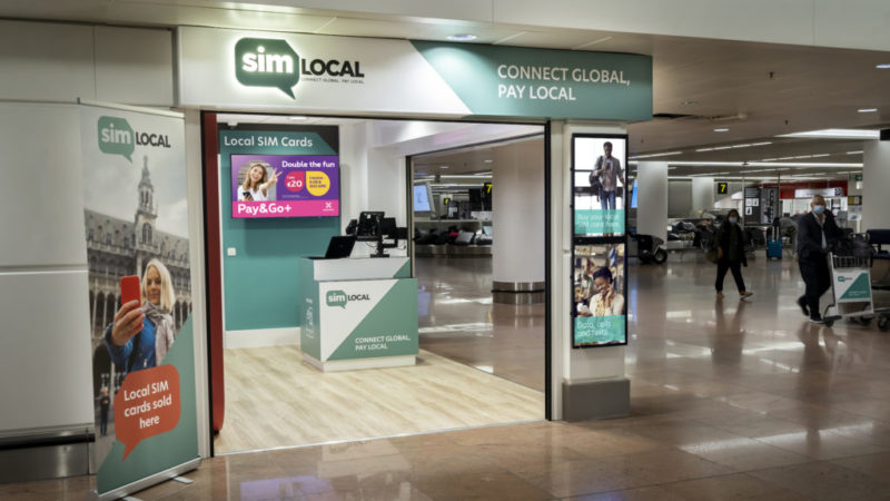Sim Local unveils new Brussels Airport store Featured Image